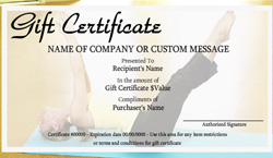 Sports and fitness gift certificate templates easy to for Gym gift certificate template