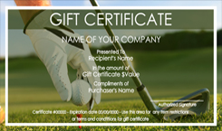 sports and fitness gift certificate templates easy to