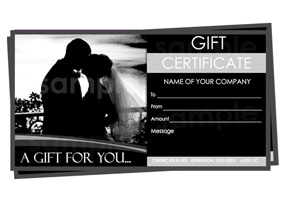 Photographer Gift Certificate Templates Easy To Use Gift