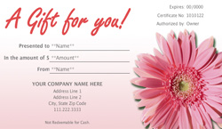 Beauty gift voucher template images frompo 1 for Gardening gift vouchers