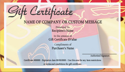 Babysitting and infant care gift certificate templates for Babysitting gift certificate template
