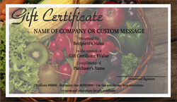 Farm and Gardens Gift Certificate Templates | Easy to Use ...