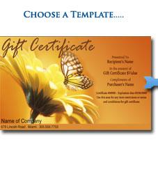 Select Gift Certificate