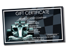Gift certificate design gallery download templates for Automotive gift certificate template